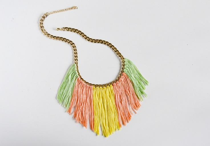 Fringed-Necklace