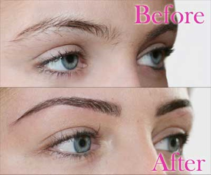 how to make your eyebrows even