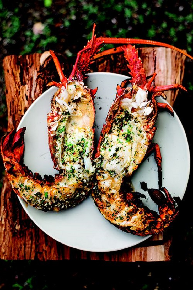 Grilled-Lobster-with-Garlic-Parsley-Butter