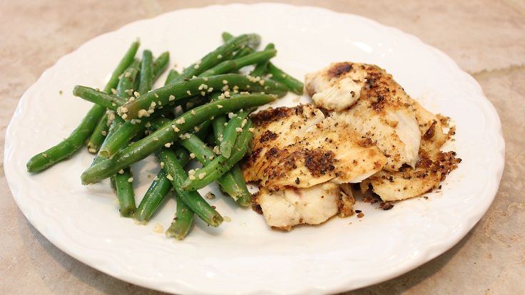 Grilled-Tilapia-and-Lemon-Garlic-Green-Beans