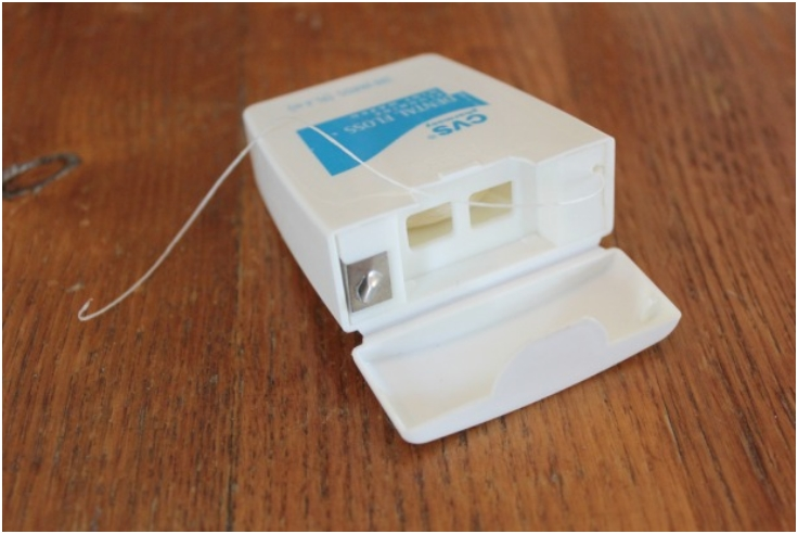 Hide-Money-In-Dental-Floss-Container