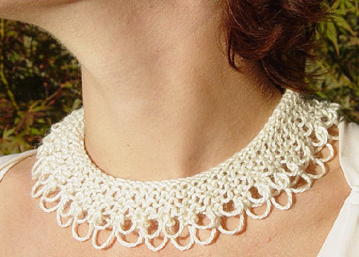 Lace-Knit-Collar