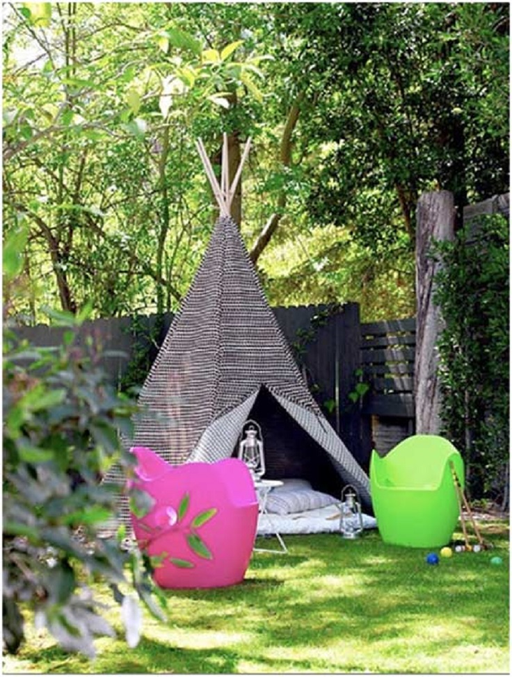 Top 10 ideas how to transform your backyard in paradise for Reliable tipi
