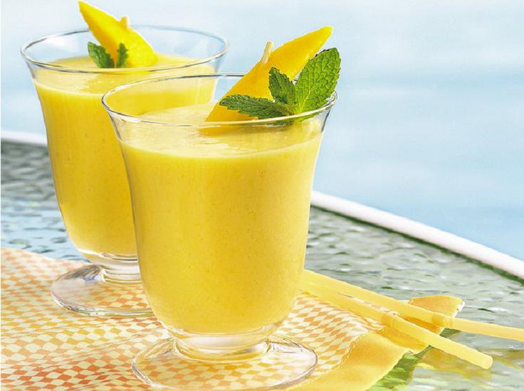 Mango-Peach-Smoothie