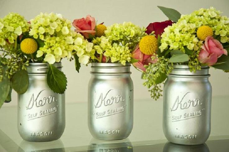 Mason-Jars-Vase-for-Flowers