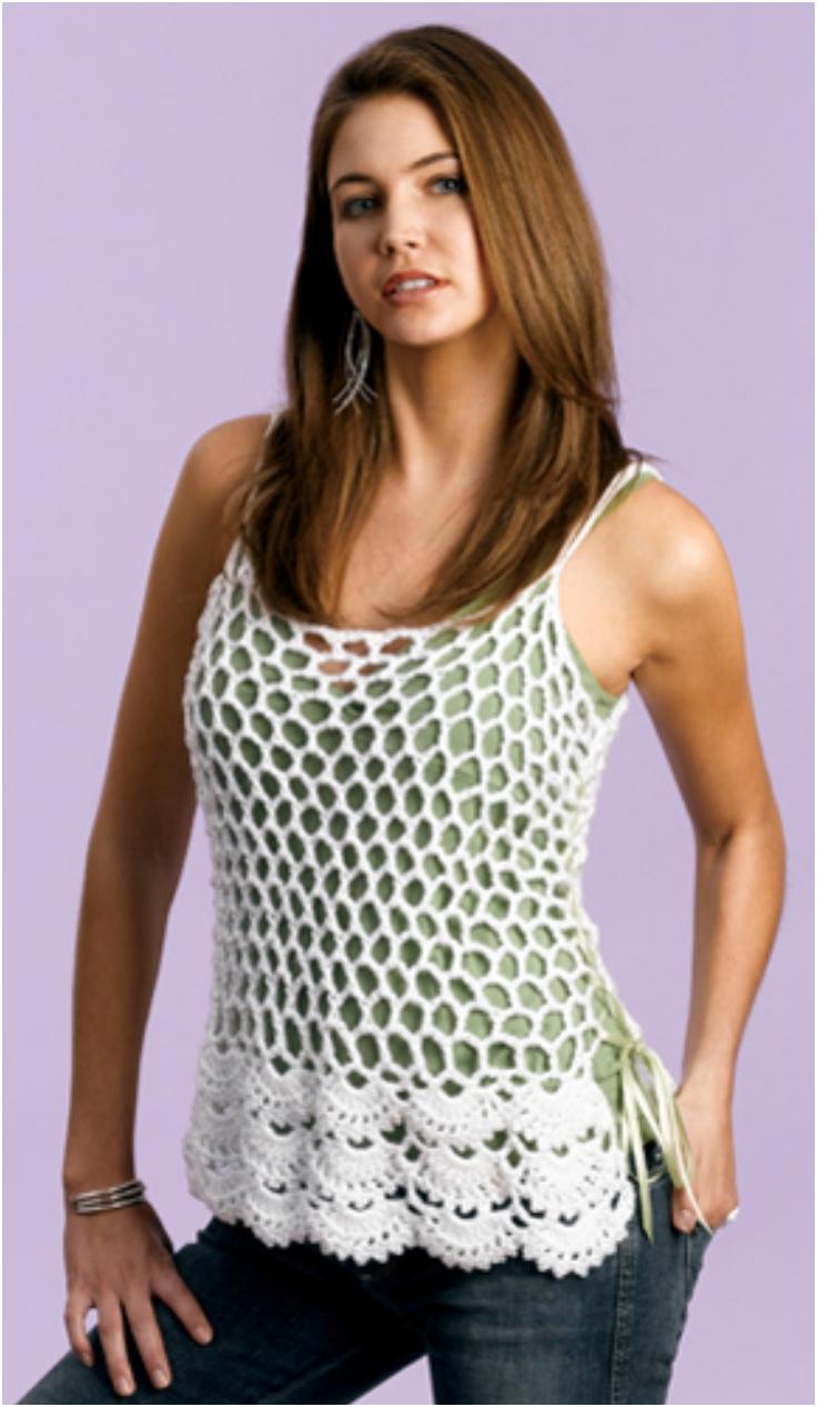 Net-Stitch-Camisole