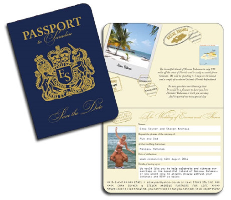 Passport-Invtiations