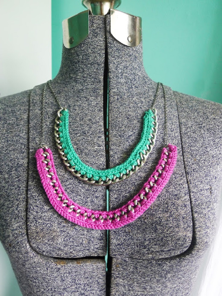 Pop-of-Color-Crocheted-Chain-Necklace