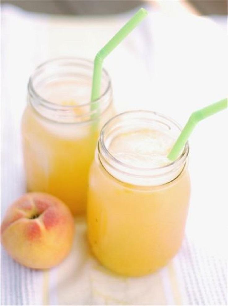 Roasted-Peach-Lemonade