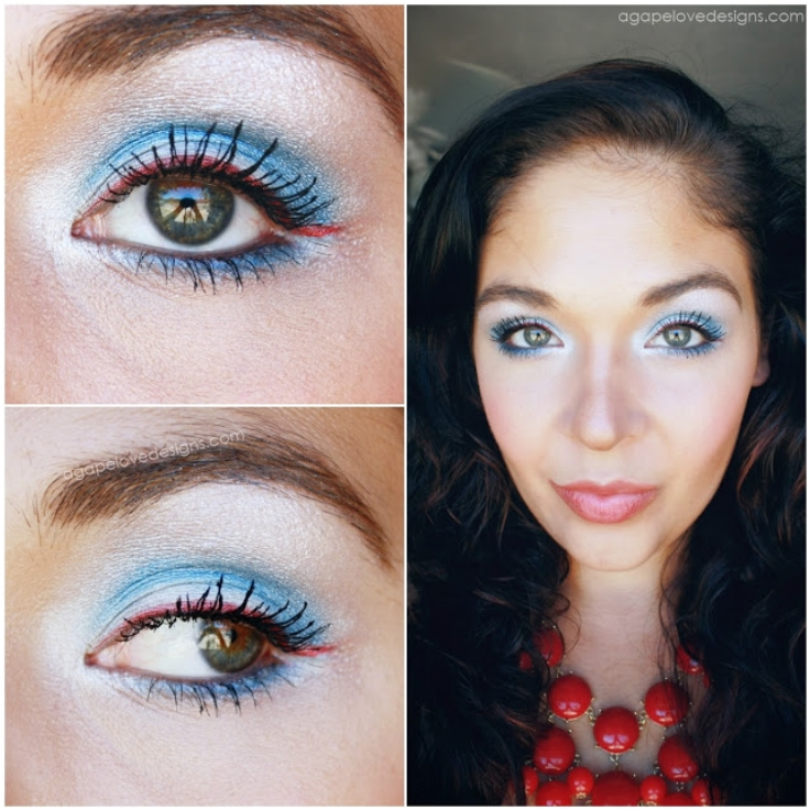 Soft-Daytime-Patriotic-Makeup