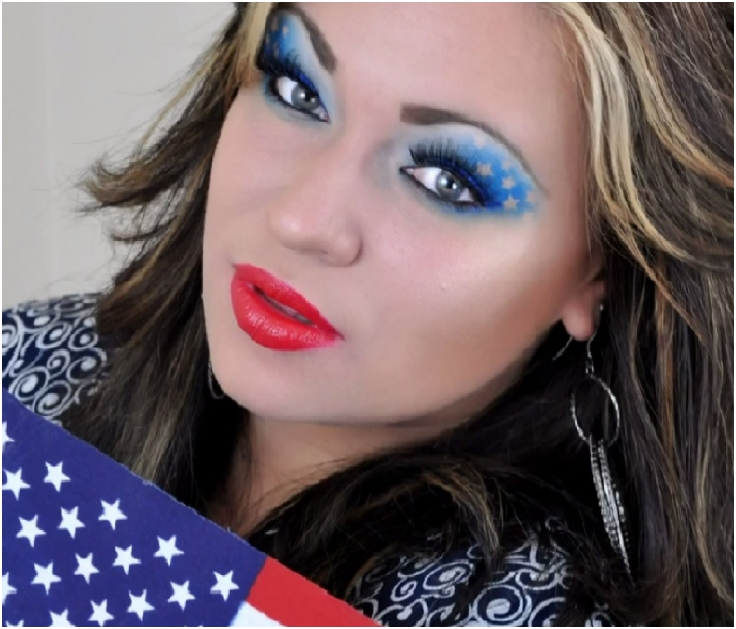 Top 10 Fabulous 4th July Makeup Tutorials