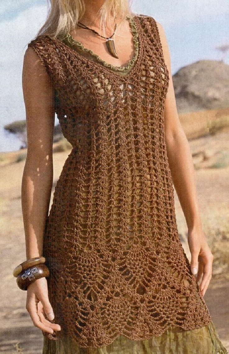 Top 10 Free Patterns For Crochet Summer Clothes - Top Inspired