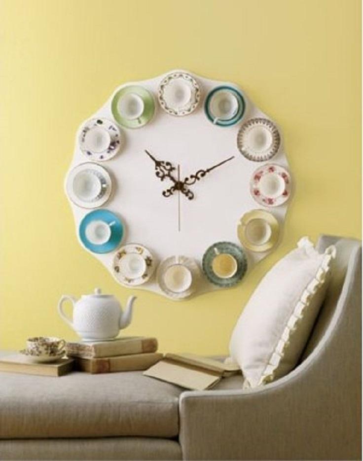 Teacup-Clock