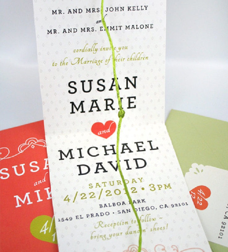 The Knot Wedding Invitations gangcraftnet