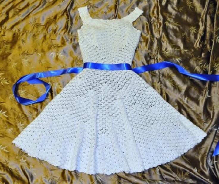 How To Crochet Dress Free Patterns : Top 10 Free Patterns For Crochet Summer Clothes - Top Inspired