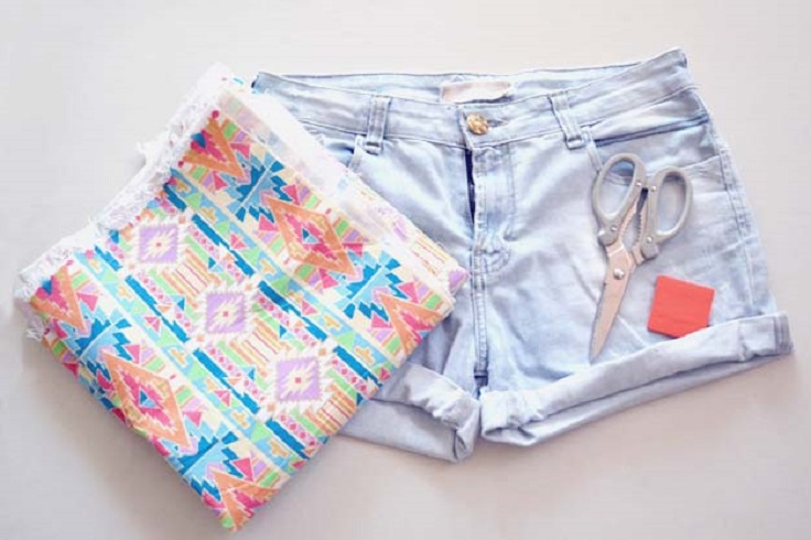 Aztec-Shorts