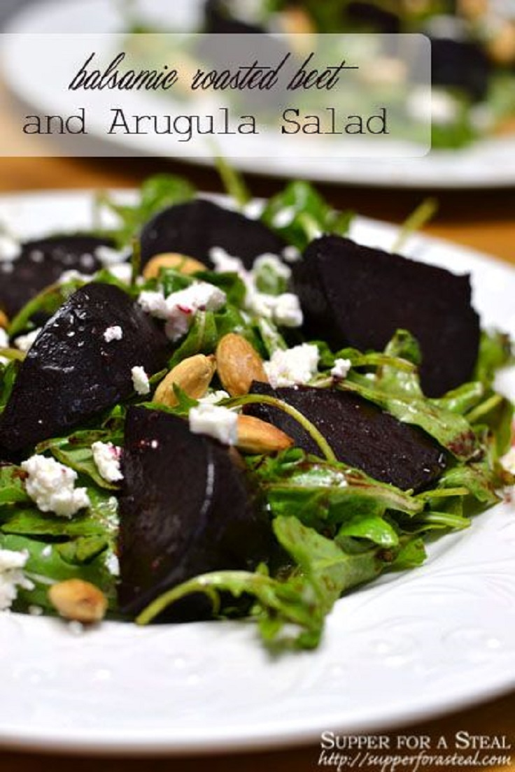 Balsamic-Roasted-Beet-and-Arugula-Salad