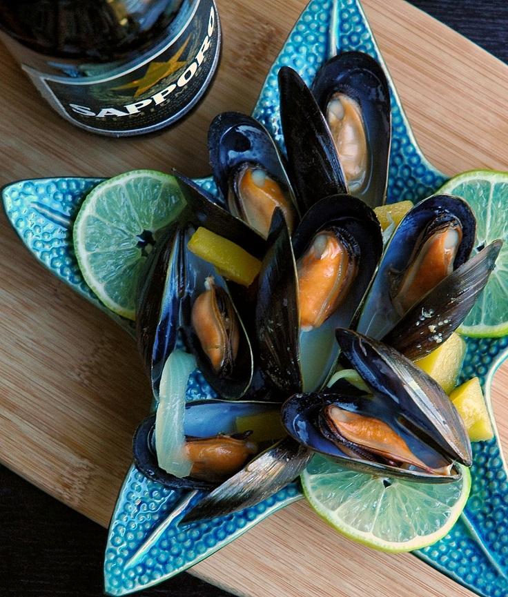 Beer-Steamed-Mussels