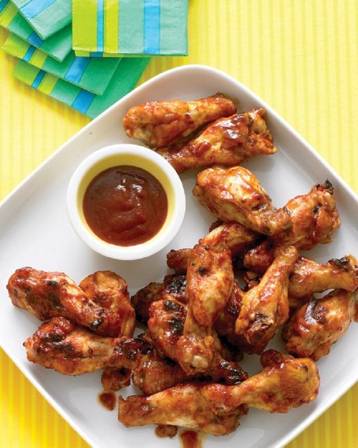 Brown-Sugar-Barbecue-Chicken-Drumettes