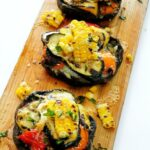 Cedar-Planked-Grilled-Portobellos-Stuffed-with-Summer-Veggies-150x150