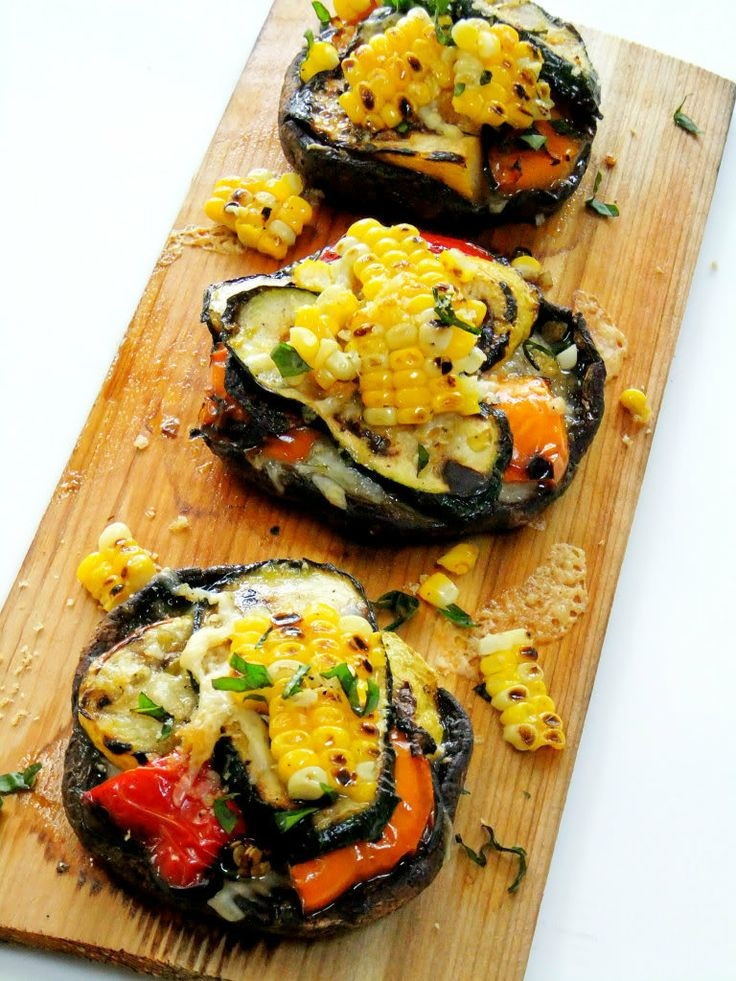 Cedar-Planked-Grilled-Portobellos-Stuffed-with-Summer-Veggies
