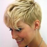 Chic Messy Pixie Haircut