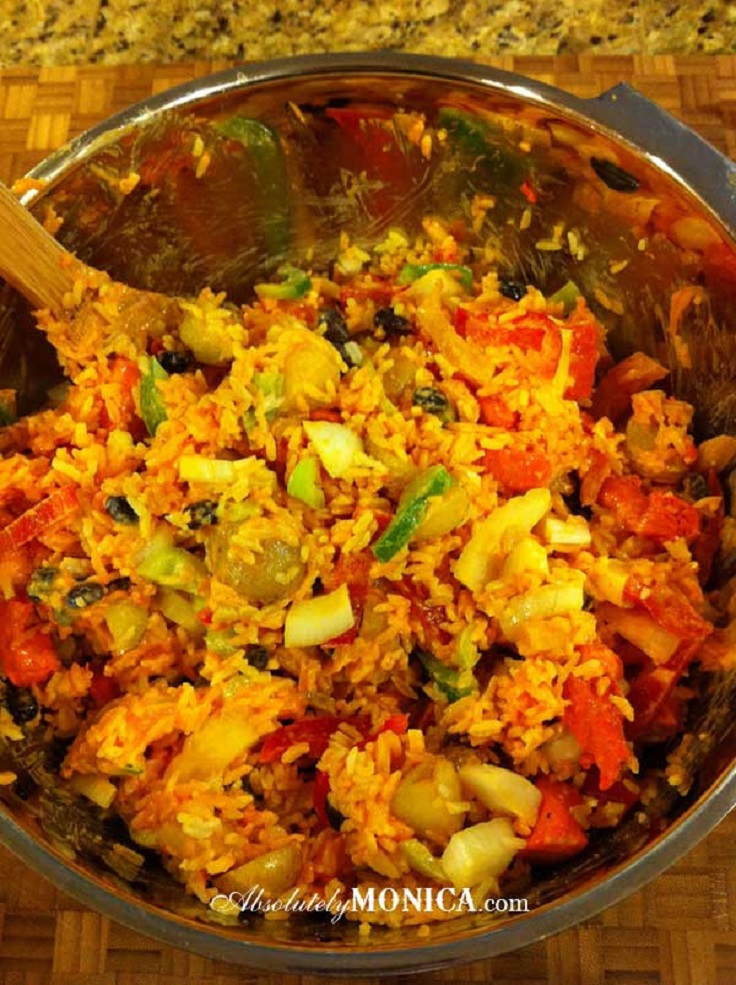 Chicken-and-Vegetable-Rice-Casserole