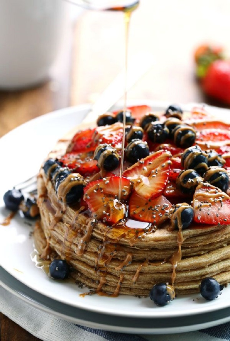 Cinnamon-Whole-Grain-Power-Pancakes