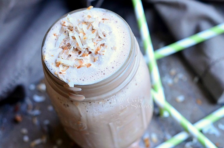 Coconut-Mocha-Milkshake