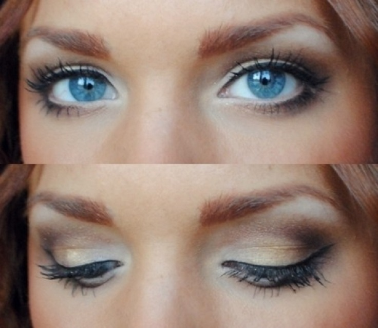 Bridal Makeup For Blue Eyes And Brown Hair : Top 10 Tips How To Choose The Right Eye Shadow For You ...