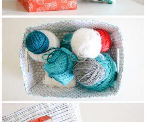 Top 10 DIY Fabric Storage Bins