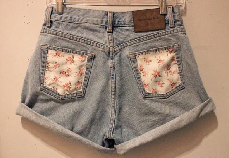 Floral-Pocket-Shorts