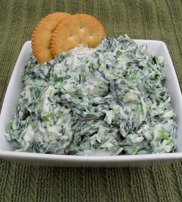 Fresh Spinach Dip Recipe — Dishmaps