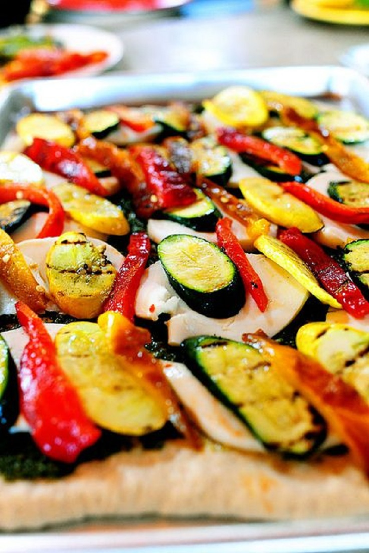 Grilled-Veggie-Pizza
