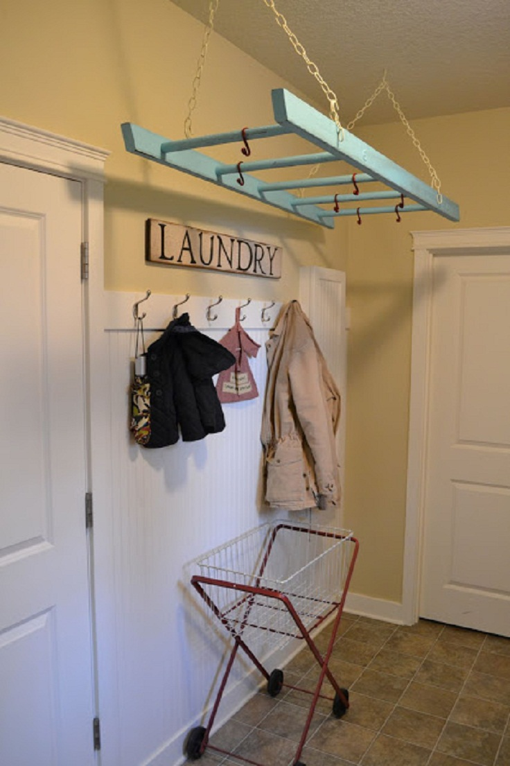 Laundary-Ladder-Rack