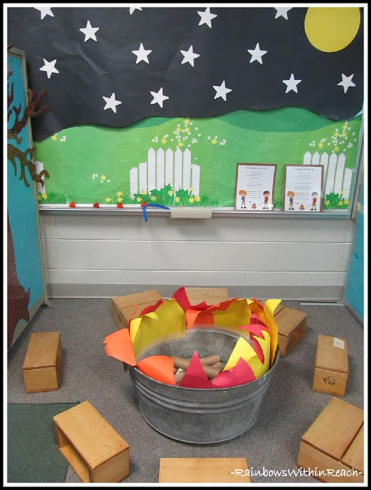 Camping Themed Classroom Decorations ~ Top diy creative classroom decorations inspired