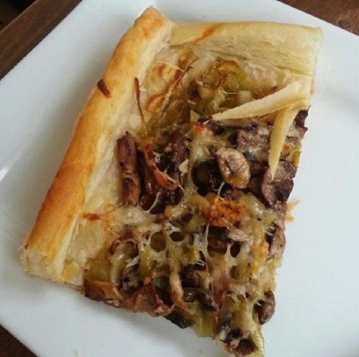 Mushroom-and-Leek-Tart