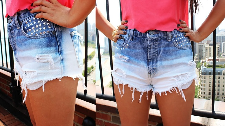Ombre-Shorts