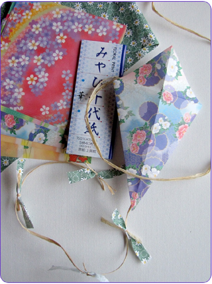 Origami-Kites