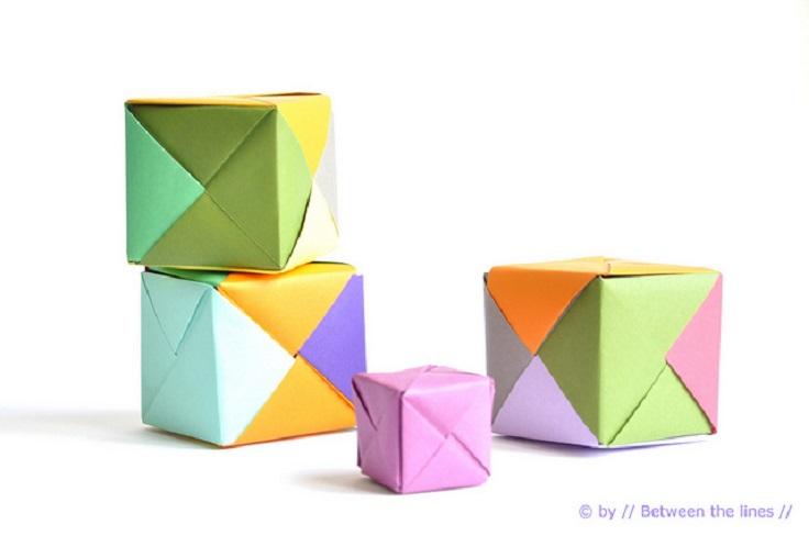 Origami-Paper-Cube