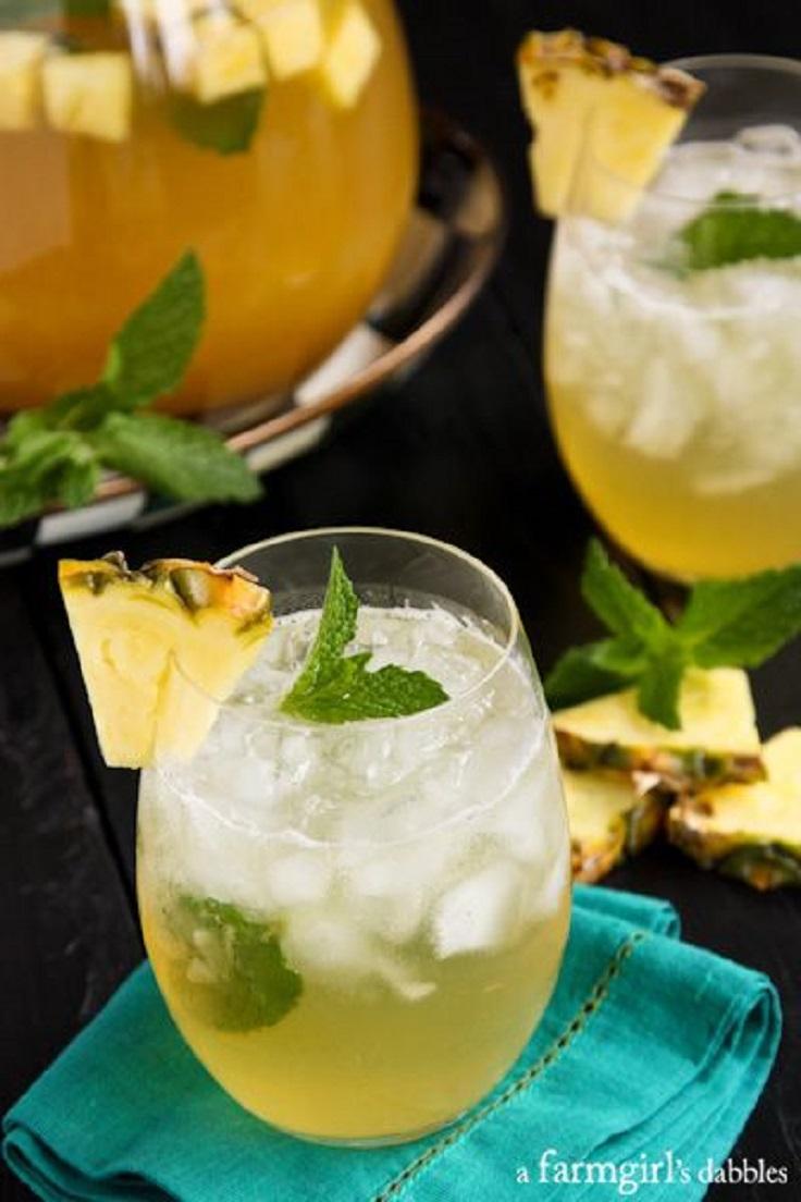 Pineapple-Mint-Julep-Sangria