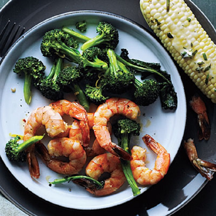 Roasted-Shrimp-and-Broccoli