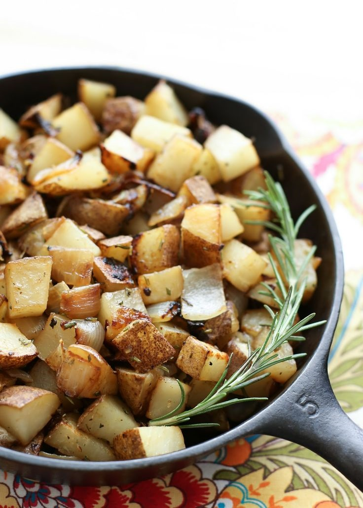 Rosemary-Onion-Skillet-Potatoes