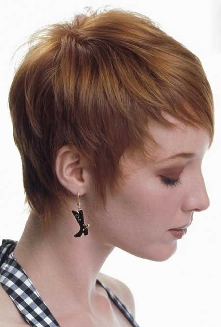 Top 10 Fashionable Pixie Haircuts For Summer - Top Inspired