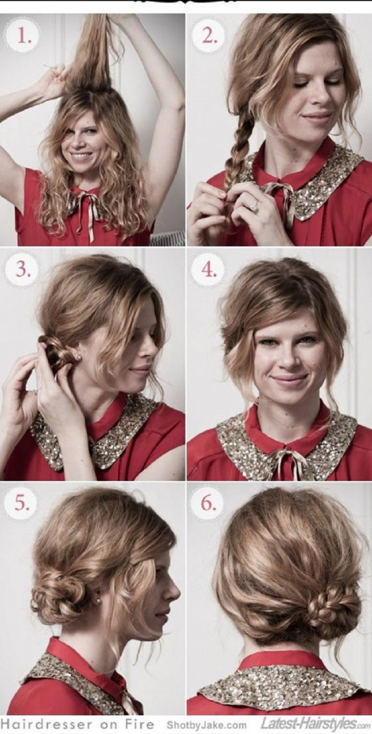 Curly hairstyles tutorials - Top 10 Curly Hairstyle Tutorials
