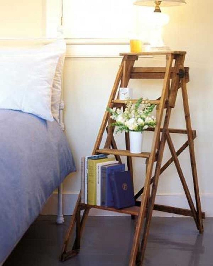 Vintage-Ladder-Nightstand