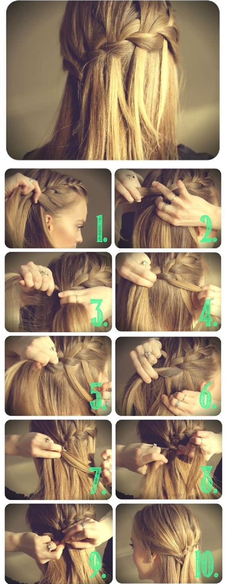 Top 10 Half Up Down Hair Tutorials You Must Have