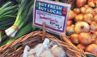 Buy locally and in season