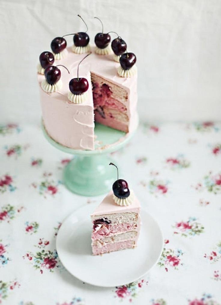 Cherry-Vanilla-Cake