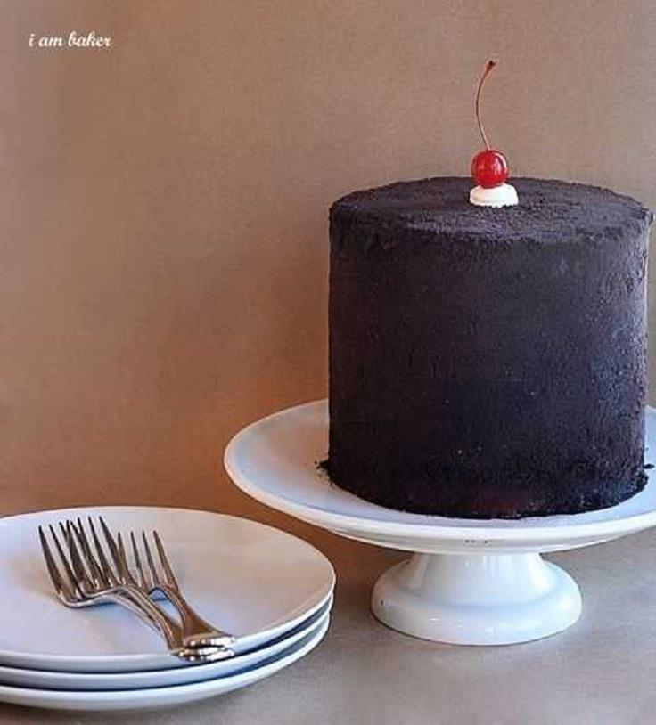 Chocolate-Covered-Cherry-Oreo-Cake